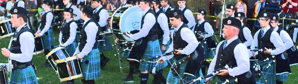 78th Fraser Highlanders take Grade 1 at Kincardine