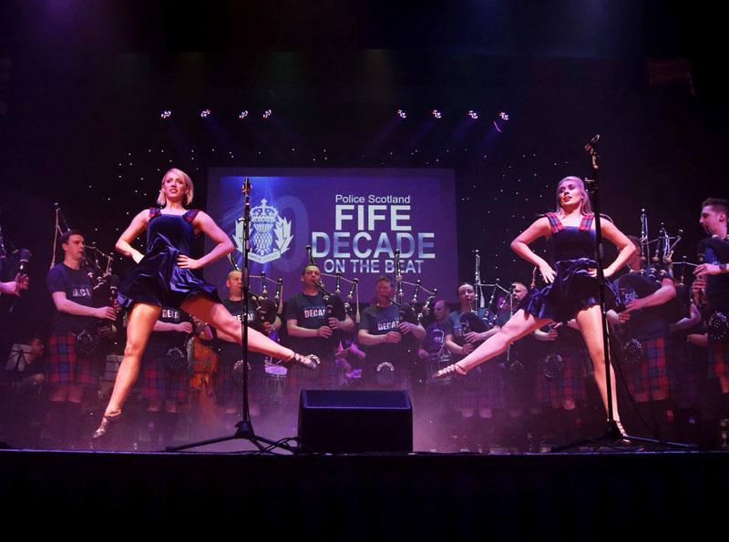 Ten spotlight for Fife Police in Aberdeen