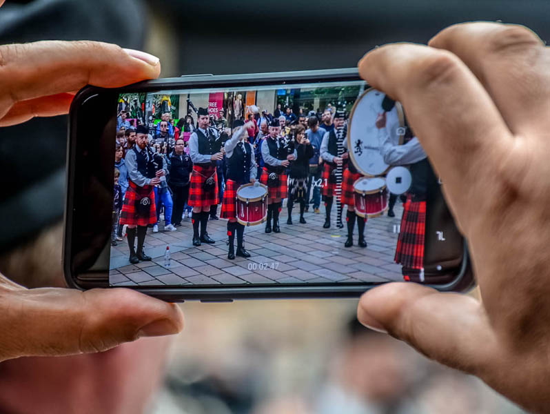 It's on: Piping Live! 2021 happening regardless of conditions (video)