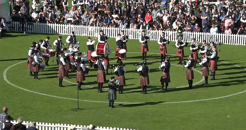 Canterbury Caledonian return as New Zealand Champions – pipes|drums