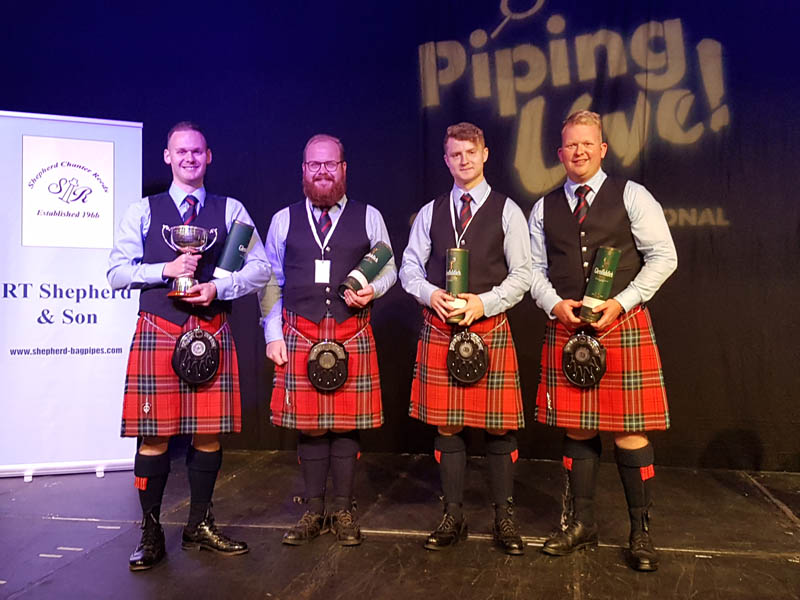 Piping Live! announces 2021 line-up