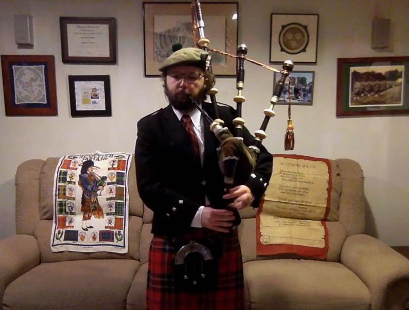 Carnegie Mellon University stages first virtual solo piping championship
