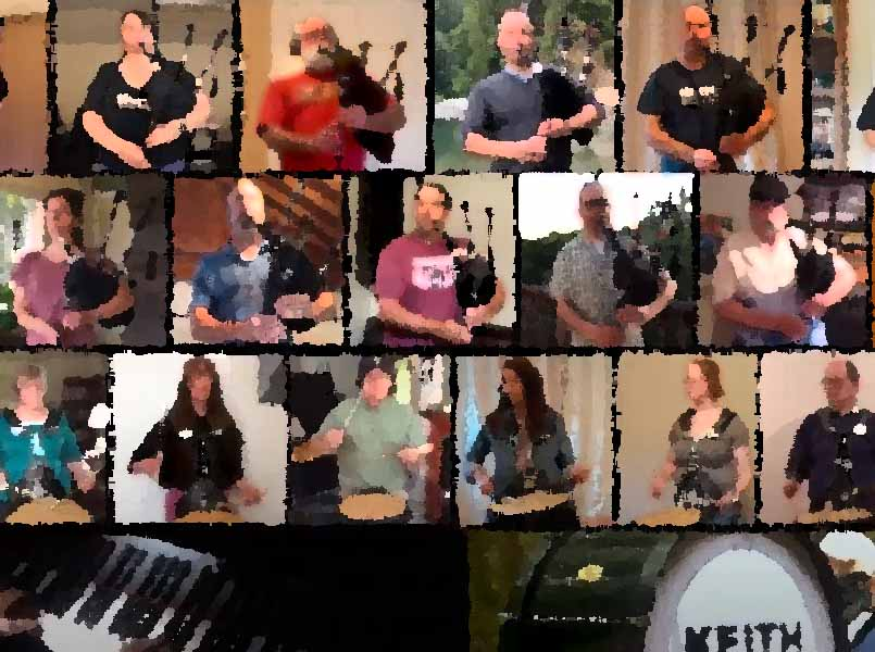 Keith Highlanders chart-toppers with 'Sound of Silence' cover