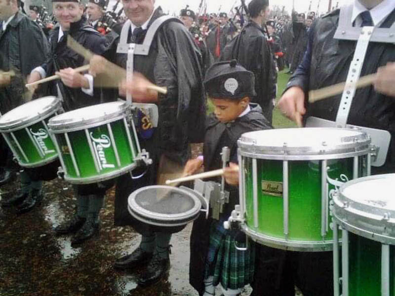 Is piping and drumming a welcome place for Black players? – Part 1