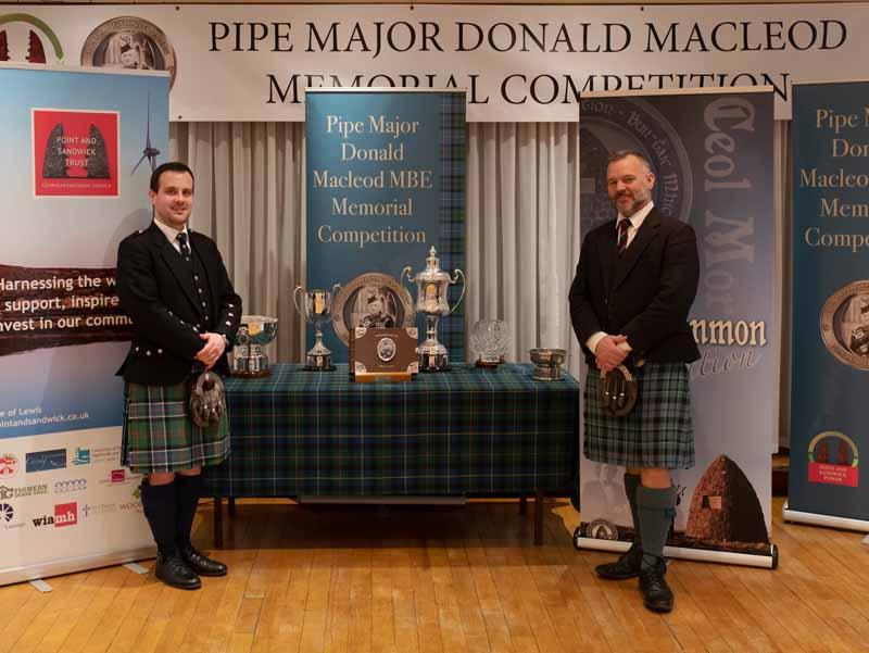 Donald MacLeod Memorial goes digital and live