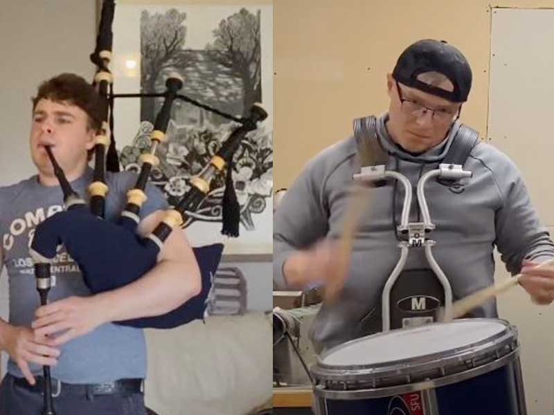 Dew, Maxwell win professional grades at Fall 2020 World Online Piping & Drumming Championships