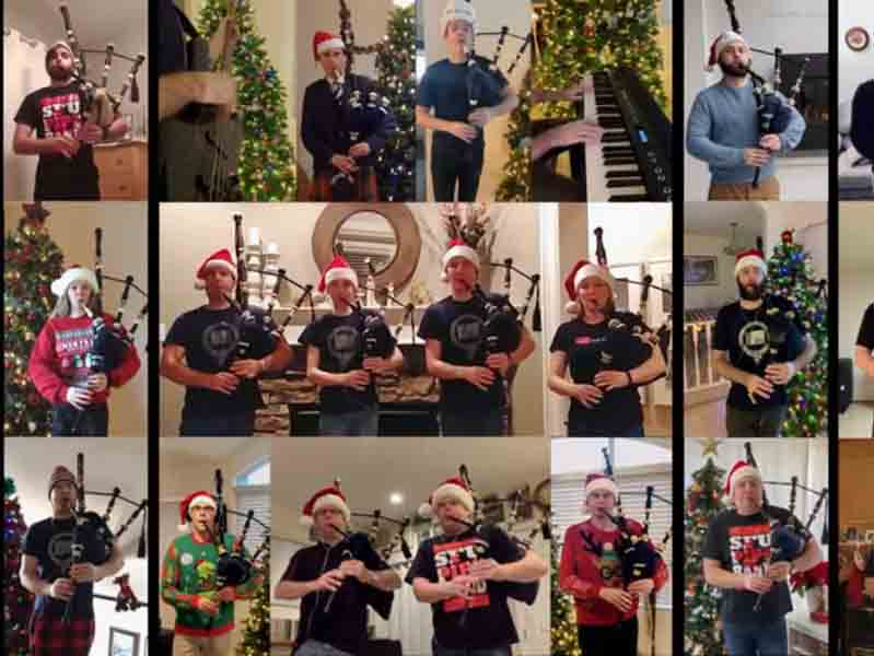 SFU gets in the spirit with charity Christmas video