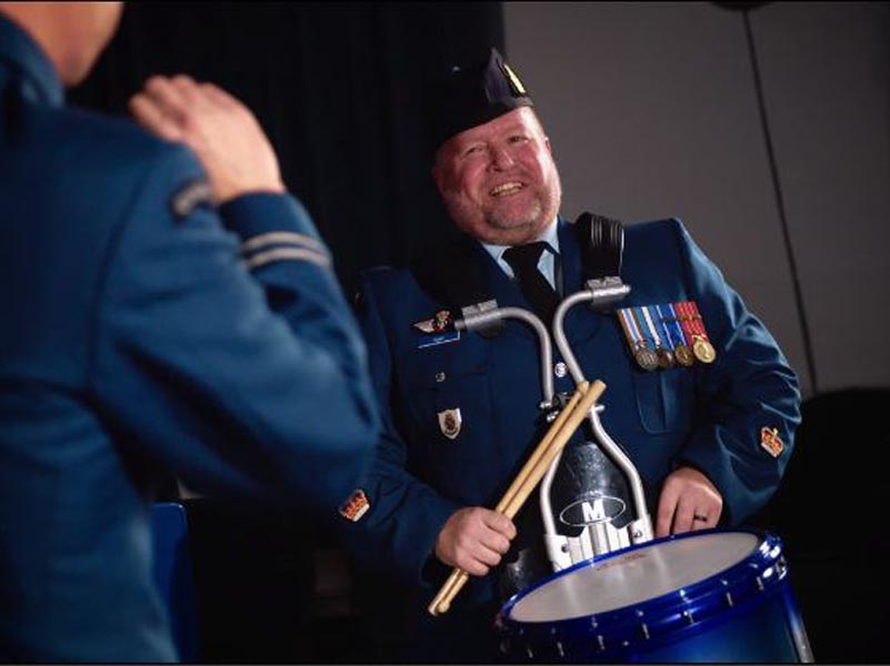 Canadian Armed Forces drummer adds voice to mental health awareness (video)