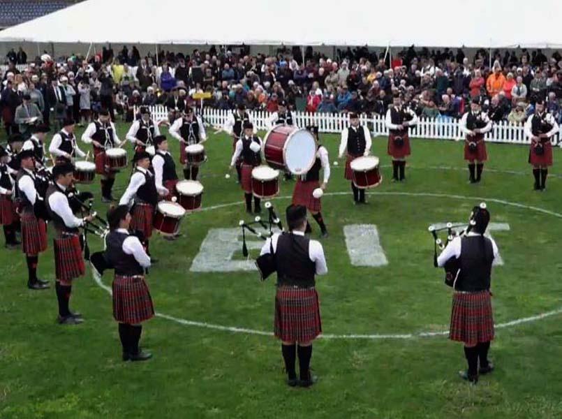 Canterbury Caledonian Society: 2021 New Zealand Pipe Band Champions