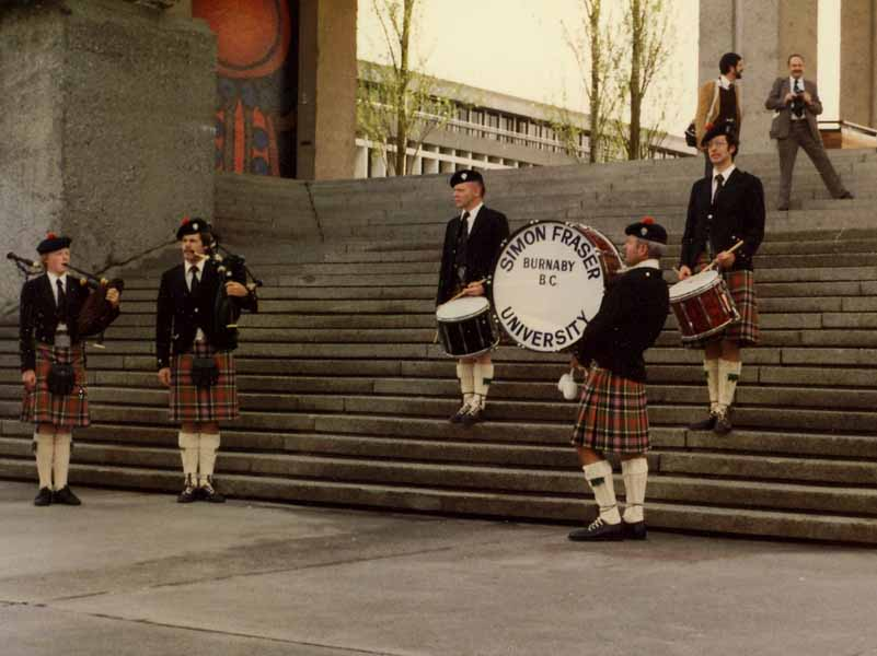 SFU achieves 40 years of consistent success and contributions to piping and drumming