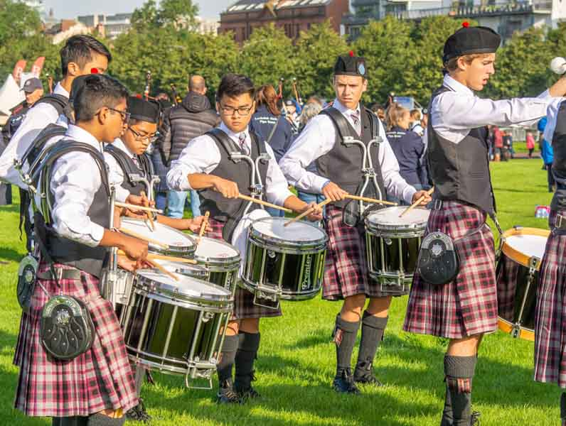 Houston's St. Thomas School gets $1M donation to build piping and drumming facilities