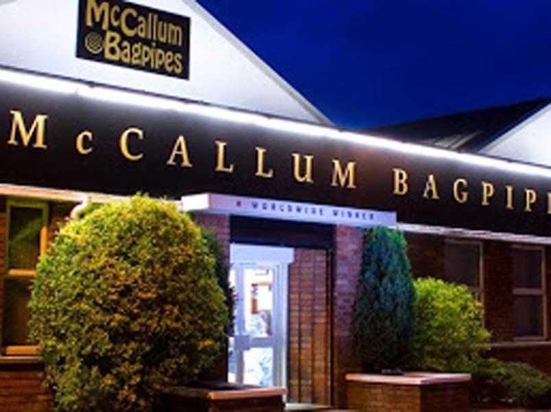 McCallum Bagpipes gets charitable again
