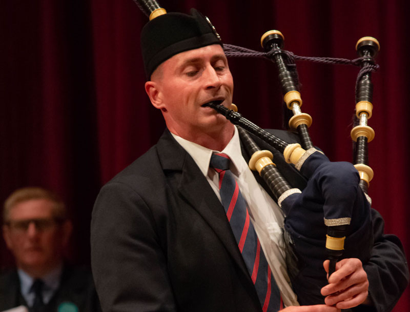 Sean McKeown wins Professional Piping aggregate in PPBSO's 'Kincardine' online event