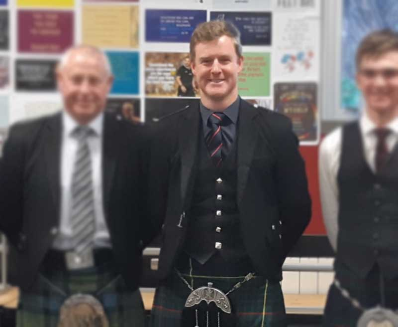 Two in a Rowe for Willie at Brown Cup solo piping
