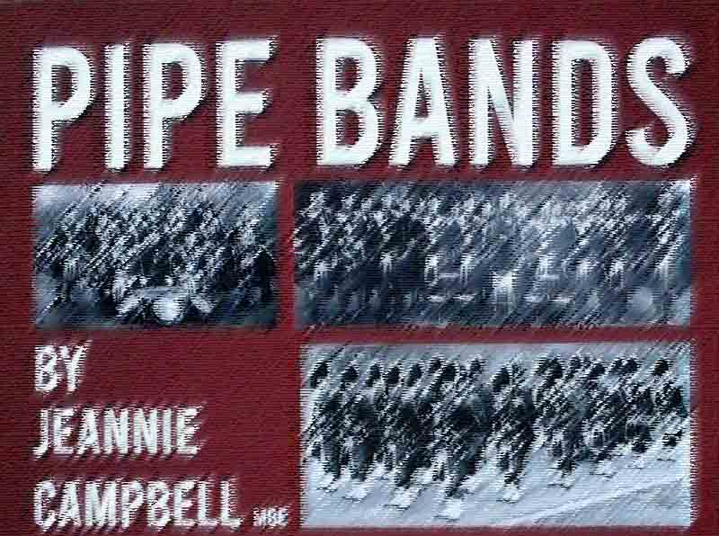 Jeannie Campbell publishes 850-page 'Pipe Bands'