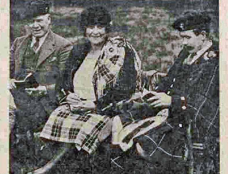 The four Wilson sisters and the mystery of the seven Whitelaw pipe-majors
